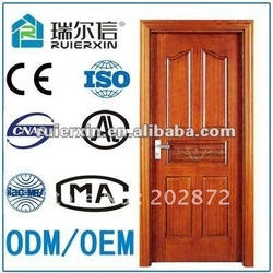 2012 New style solid pannel wooden door(China (Mainland))