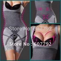 Free shipping 100pcs/lot Slimming Bamboo Shaper Bamboo Charcoal Sculpting Underwear