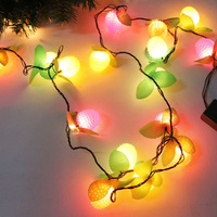 About 3.7 meters 28 litchi style christmas lights christmas tree decoration lamp Christmas decoration lantern