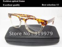 fashion optical frame  Free shipping eyewear frame high quality  brand acetate man lady eyewear
