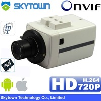 4pcs 2MP CMOS Sensor,h.264 720p 4/6/8mm fixed lens, CCTV bullet security hd ip video camera poe micro sd optional indoor use