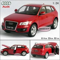 New AUDI Q5 1:24 Alloy Diecast Car Model Toy Collection With Box Red B099a