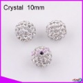 LY14205 DIY 10mm Rhinestone Pave Disco ball hot sell Crystal beads Crystal 50pcs/bag,CPAM FREE Use for Jewelry
