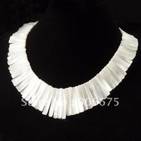 """Free Shipping New Fashion Beautiful Mother of pearl MOP shell Beads Jewelry Pendant Necklaces 15"""" Wholesale"""
