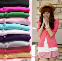 Free shipping/2013 new ladies/women's/ long sleeve cardigan sweater /kintted sweater/ tops S-811 (Drop shipping support!)