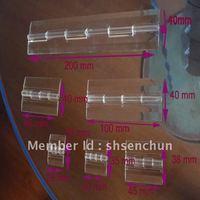 acrylic/plastic/plexiglass hinges