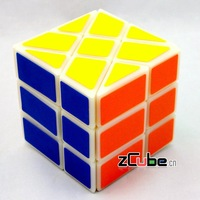 Free shipping of YJ - Square King  Fisher Cube (black) magic speed cube