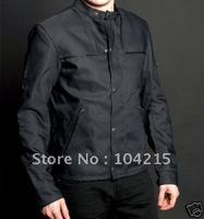 Dropshipping! Hot sell Du Lala Mens Jacket ,Mens Motorcycle Jacket ,can Remove Lining