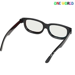 Plastic frame make circular polarized lens 3D glasses for lg passive tv 30pc/lot with freeshipping(China (Mainland))