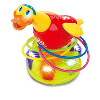 Department of music 586 taoquan toy electric toy set myvatn little duck baby toy parent-child toys