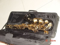 New Arrival Black Nickel Selmer 54 Tenor Saxophone Beauty Sax with case Free Shipping