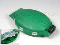 Hot!! 1PCS Plastic tortoise Style Small Protable Mini Fishing Tackle Box