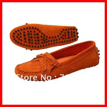 2013 free shipping cheap bespoke fashion brogue genuine leather handmade boots women flat oxford shoes