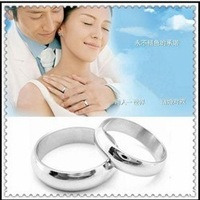 Hot-selling platier gloss brief glossy titanium ring accessories lovers ring 1980