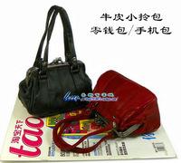 Soft leather handbag tote bag women's handbag genuine leather bag small bags