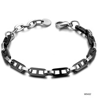 Accessories 2012 jewelry quality black titanium ceramic girls bracelet ws432