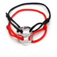 - lovers bracelet red string bracelet titanium lovers bracelet