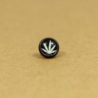 Titanium black-matrix white no pierced earrings earring magnet stud earring