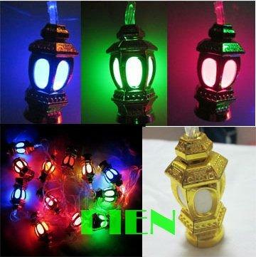 X'mas Multicolor 20 ampoules LED 5 M LED fée jeu de lumières halloween décoration extérieure de noël 110 V - 240 V livraison gratuite 1 conjunto(China (Mainland))