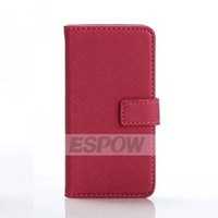 High Quality Covert Wallet Leather Case for iPhone 5