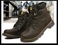 Мужские ботинки 2012 Winter shoes for men, snow boots waterproof thickening thermal cotton-padded shoes