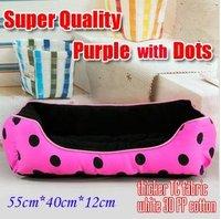 Free shipping, Hot selling, Princess Purple Noble Dog House ,pet bed, 55*40*12cm,10pcs/lot ,wholesle item