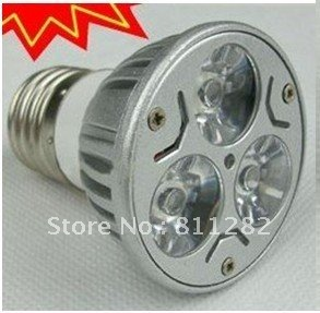 10 pcs/ lot 3W Led bulb with high quality material,small flood light E27,220v,50000 hours using life(China (Mainland))