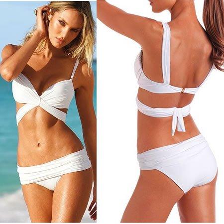 White Bikinis Swimwear