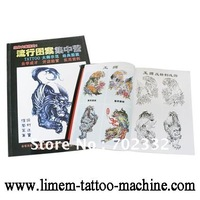 Christmas Design book -New tattoo Stencil book For Christmas Template  free shipping