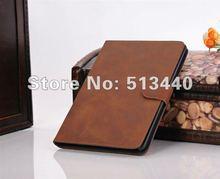Hotsale! Leather Skin Retro Cases for iPad Mini Crazy Horse Cover PU Cases for Mini iPad(China (Mainland))