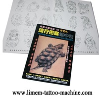 2012 New Chinese Tattoo Flash Design Book  magazine FREE SHIPPING
