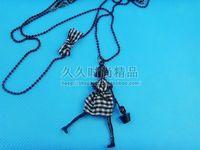 5410 necklace vintage necklace little girl pendant long design long necklace 30g