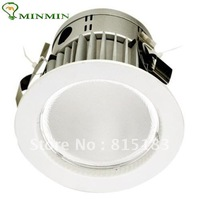 Holiday Discounts! Hot sale - 15W 110-240V 8pcs/lot LED Downlight 1400LM High Power White Shell Free Shipping