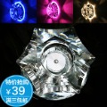 3w high power led crystal aisle lights entrance lights modern brief antechapel lamp