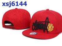 New Fashion Element 100% cotton adjustable snapback hats caps for sale red snapbacks hat cap