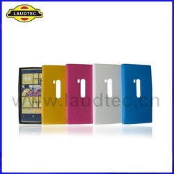 Various color tpu gel Case for Nokia Lumia 920 back case, wholesale 500pcs/lot,DHL free shipping,Top quality,Laudtec(China (Mainland))