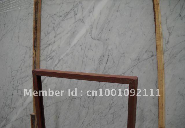 low price Bianco-Statuario-Venato Marble slab(China (Mainland))
