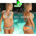 Sunlun Free Shipping Ladies' Sexy Lace Nulticolor Bikini Women Bathing Suit