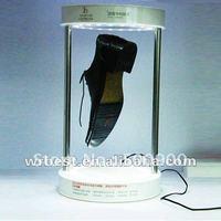Novel promotion gift acrylic LED shoe display W-7011