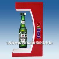 High-quality Advertising Display Rack Beer Bottle Display W-7025