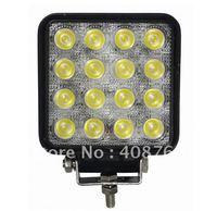 China 48w commercial electric led work light for truck, car, atv,utv,suv 4x4 led working light