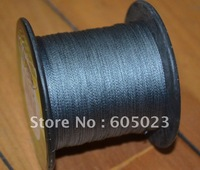 Retail packaging 1pcs 500YD 30LB gray 100% Spectra PE Braid fishing line