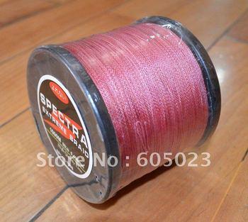 NEW 1pcs 1000M 80LB  RED Color 100% Spectra PE Braid fishing line