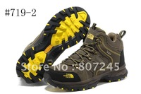 Hiking shoes men high-top waterproof  2012 winter new goods Free Shipping