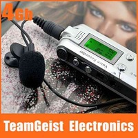 NEW 4GB 1.2 LCD Digital Voice Recorder Voice Activation With Telephohne Recorder MP3 Player Recorder Pen Free Shipping