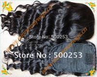 Sunnymay Hair 6A+Grade Brazilian Virgin Hair Loose Curly Drawstring Ponytial Fast Shipping By Dhl Or Ups