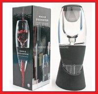 HOT wine Aerator Magic Decanter with bag hopper magic decanter with bag and filter LS0010