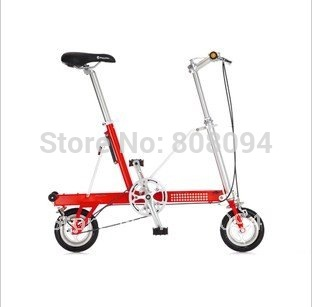 Taiwan original installation import Pacific Pacific CarryMe 8 inches of folding bike, mini bicycle(China (Mainland))