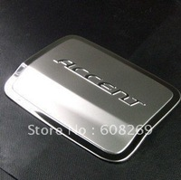 freeshipping! Wholesale  Hyundai Accent fuel tank cap /stainless steel  Tank Covers