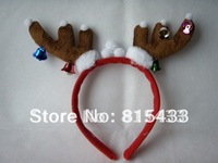 4 Pieces/lot Cute Antler Hair Band Hairwear for Party Costume Show Holiday Gift
